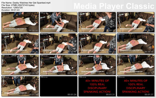 thumbs20180620155842 m - MP4/HD - Daddy Watches Her Get Spanked