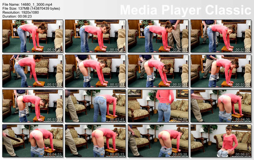 thumbs20180622152252 m - realspankingsnetwork – MP4/Full HD – Dakota Punished to Tears with the Belt