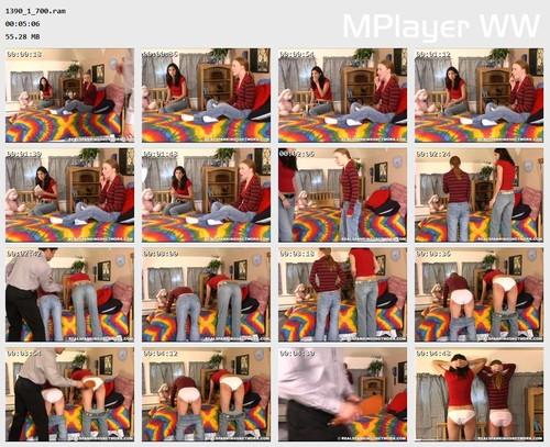 1390 1 700 Preview m - spankingteenjessica – RM/SD – Jessica & Brandi: Spanked for Credit Card Abuse (Part 1)