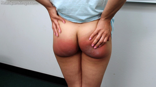 14701 014 m - realspankings – MP4/HD – Paddled for Dress Code Violations download for free
