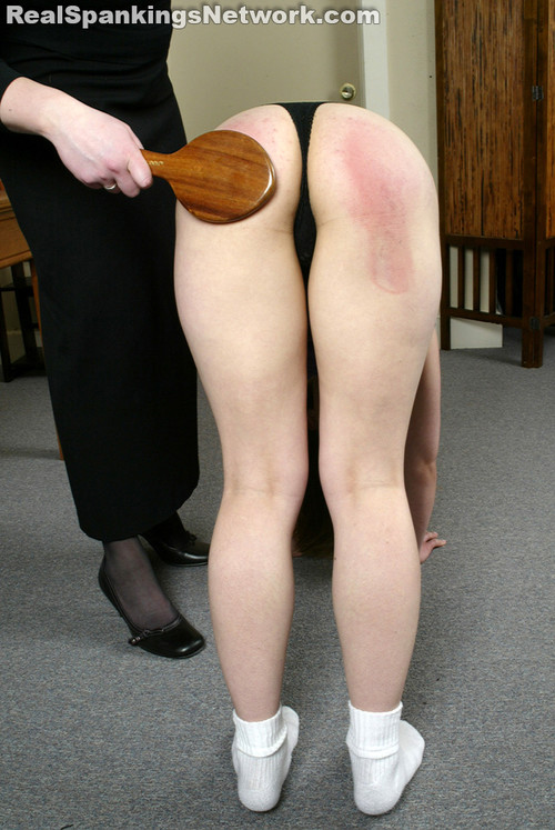 1650 056 m - bispanking – RM/SD – Paddled in Lunge Position download for free
