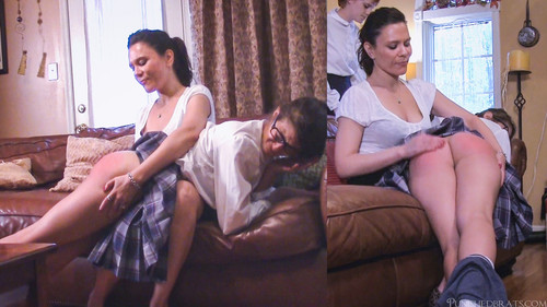 16 m - punishedbrats – MP4/Full HD – The Runaways - Chloes Spanking