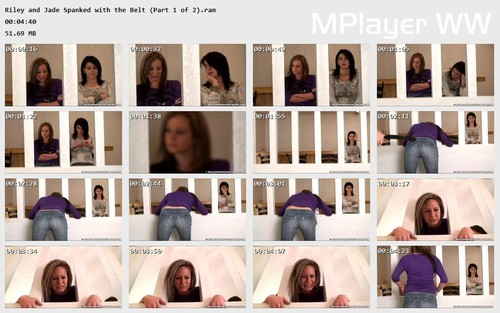 Riley and Jade Spanked with the Belt (Part 1 of 2) Preview m - realstrappings – RM/HD – Riley and Jade Spanked with the Belt (Part 1 of 2) download for free