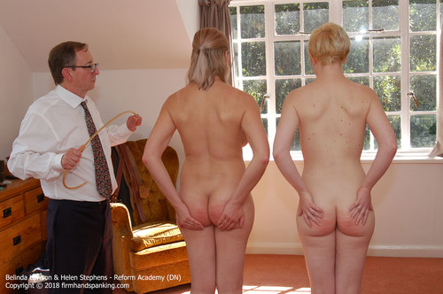 academy dn023 m - firmhandspanking – MP4/HD – Belinda Lawson - Reform Academy DN/Belinda and Helen touch their toes totally naked for a Reform Academy caning | Added Jul 09, 2018 download for free