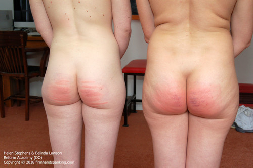 academy do022 m - firmhandspanking – MP4/HD – Belinda Lawson - Reform Academy DO/Nude double caning with Belinda Lawson, Helen Stephens touching toes in turn |  Jul 16, 2018