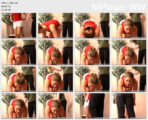 1054 2 700 Preview m - bispanking – RM/SD – Claire Spanked at Home