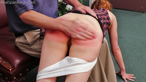 14814 012 m - realspankingsnetwork – MP4/Full HD –  Spanked for Her Dirty Room download for free