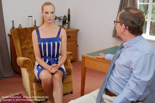 princess a001 m - firmhandspanking – MP4/HD – Amelia Rutherford - Princess Punishment A/She's back! Amelia is about to become royalty, but not before a sound spanking! download for free
