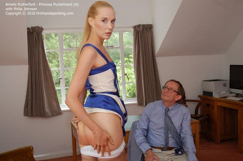 princess a024 m - firmhandspanking – MP4/HD – Amelia Rutherford - Princess Punishment A/She's back! Amelia is about to become royalty, but not before a sound spanking! download for free
