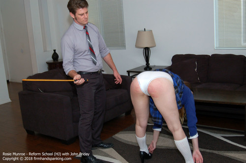 reform hj003 m - firmhandspanking – MP4/HD – Rosie Munroe - Reform School HJ/Bent over, touching her toes, Rosie Munroe waits for 12 strokes of the cane | Aug 10, 2018 download for free