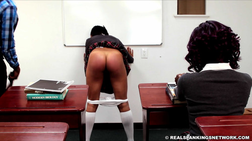 snapshot20180825225053 m - realspankingsnetwork – MP4/Full HD – Nuna and Cleo Spanked for Disrupting Class download for free