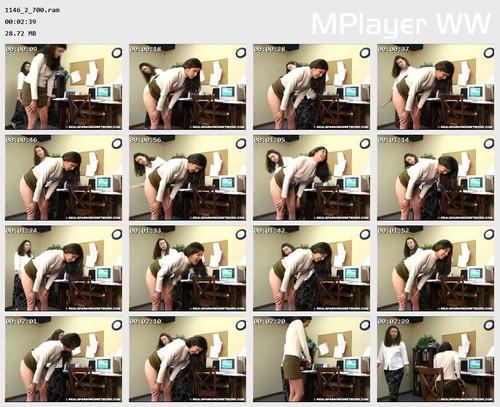 1146 2 700 Preview m - Spanking Teen Brandi – RM/SD – Office Spanking