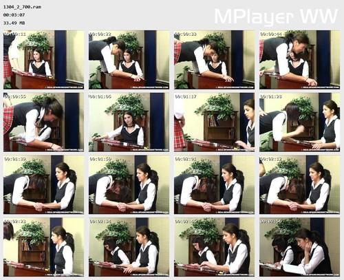 1304 2 700 Preview m - Spanking Teen Brandi – RM/SD – Brandi & Kailee Paddled at School