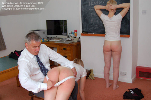 academy dy002 m - Firm Hand Spanking – MP4/HD – Belinda Lawson - Reform Academy DY/Bare bottom spanking for Belinda Lawson in classic over-the-knee punishment
