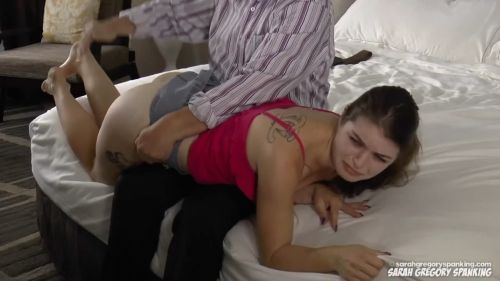snapshot20180923171003 - Sarah Gregory Spanking – MP4/Full HD – Daddy Spanks Anastasia (Part 1)