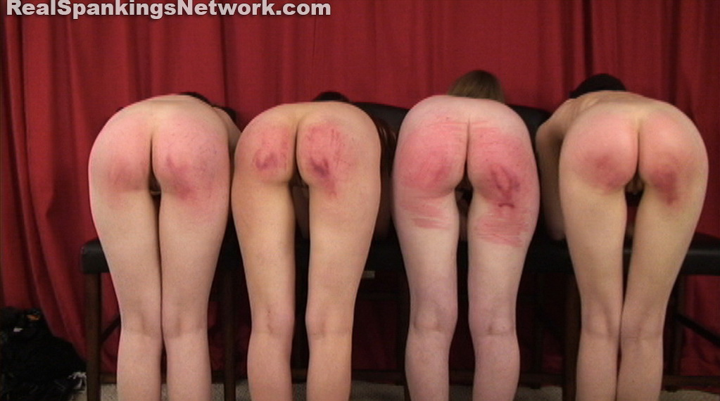4 - Real Strappings – RM/HD – Four Naked Girls Spanked (Part 4 of 4) | OCT. 26, 18