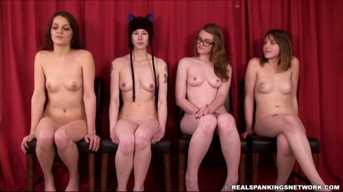 5 - OTK Spankings – RM/HD – Four Naked Girls Spanked (Part 1 of 4) | OCT. 19, 18