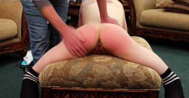 5bd88e0838419 2 375x195 - Real Strappings – RM/HD – Monica Spanked with the Belt   October 15, 2018