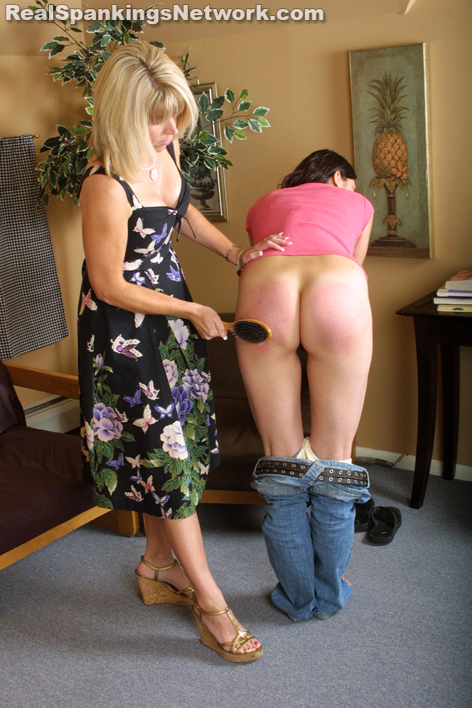 7904 019 - Spanking Teen Brandi – RM/SD – Brandi Does Not Follow The House Rules