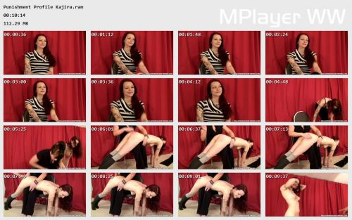 Punishment Profile Kajira Preview - OTK Spankings – RM/HD – Punishment Profile: Kajira   October 15, 2018