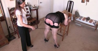 Time For Her Weekly Spanking 0016 375x195 - Real Spankings – MP4/Full HD – Spanked Before Her Shower | OCT. 19, 18