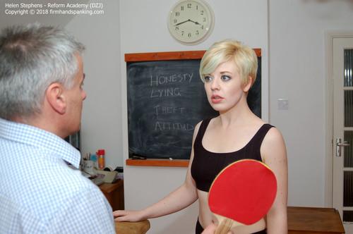 academy dzj001 m - Firm Hand Spanking – MP4/HD – Helen Stephens - Reform Academy DZJ