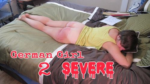 chrissie2 main - Dallas Spanks Hard – MP4/SD – Chrissie - Severe & Real Spanking 2
