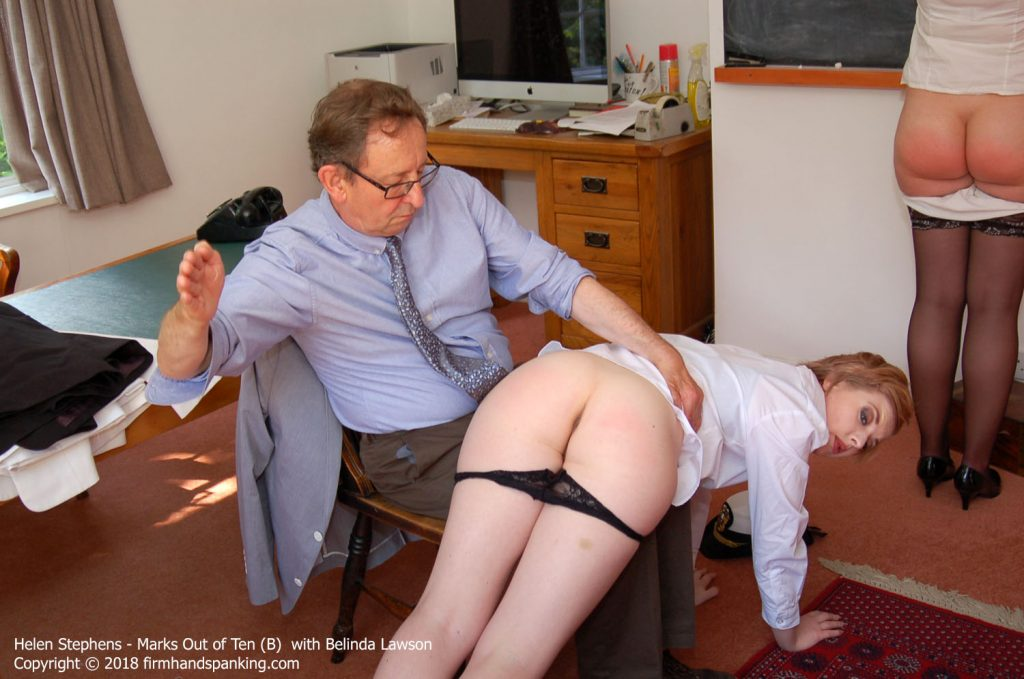 marks b012 1024x679 - Firm Hand Spanking – MP4/HD – Helen Stephens - Marks Out of Ten B/ Lawson and Helen Stephens are spanked to the limit in a hot new series!