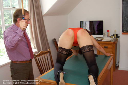princess f015 m - Firm Hand Spanking – MP4/HD – Amelia Rutherford - Princess Punishment F/Amelia Rutherford right royal bare bottom spanking with a thick wooden ruler