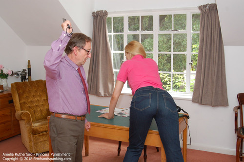 princess g015 m - Firm Hand Spanking – MP4/HD – Amelia Rutherford - Princess Punishment G