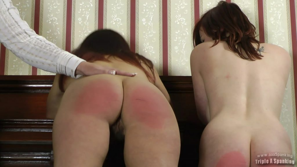Triple A Spanking – AAA Spanking – MP4/Full HD – Jenna,Taylor – Punishment Stairs