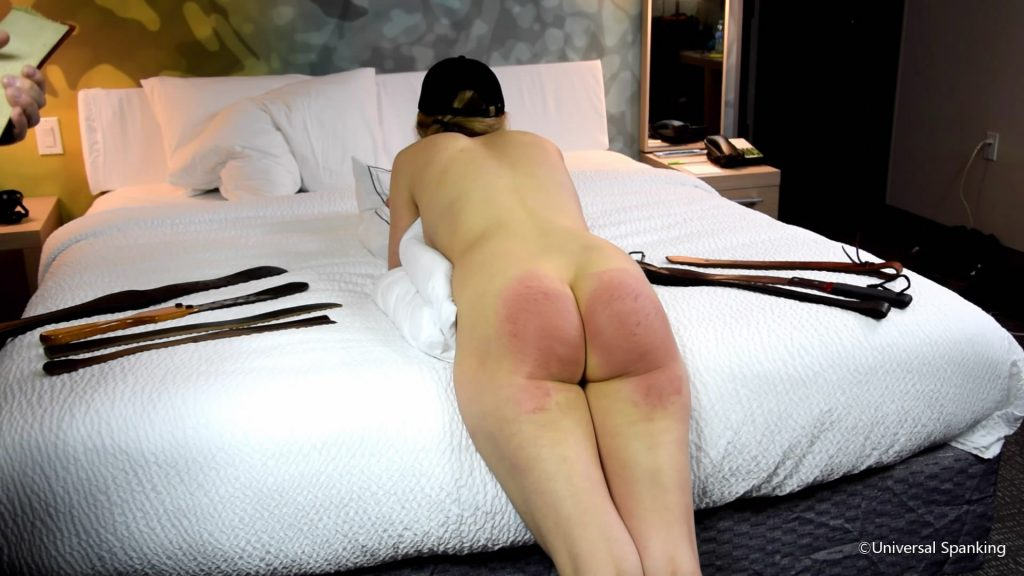 Universal Spanking and Punishments – MP4/Full HD – The Sting From 8 Straps