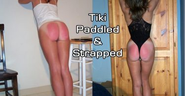 tiki paddles main 1 375x195 - Disciplinary Arts – MP4/SD – ROBERT WOLFE,GINGER SPARKS - GINGER'S SEVERE REAL DISCIPLINE BEYOND TEARS  | October 30, 2018