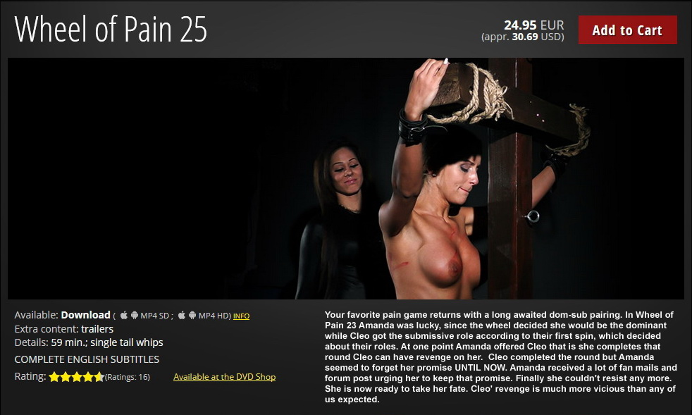 01 1 - Elite Pain – MP4/HD – Wheel of Pain 25