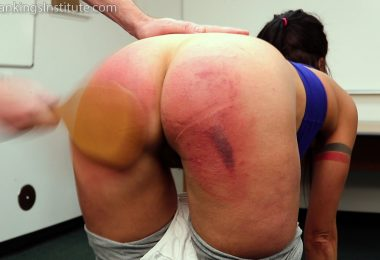 15009 010 380x260 - Real Spankings Institute – MP4/Full HD – Delta is Paddled by The Dean   November 30, 2018