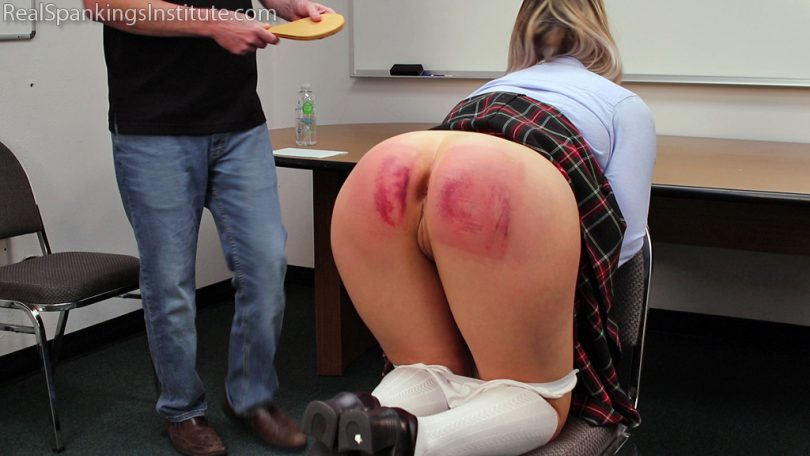 15017 002 810x456 - Real Spankings Institute – MP4/Full HD – Sent for a Double Dose by The Dean (Part 2 of 2) | Nov 23, 2018