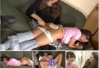 "2 4 145x100 - Momma Spankings – MP4/Full HD –  Miss Bernadette, Paul ""Tubaman"" Rogers ,Kiki Cali -  Kiki Diapered Mouthsoaped Spanked (Part 1-5) 