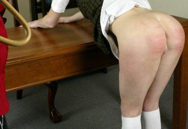 809 040 380x260 - Spanking Teen Jessica – RM/SD – Caned Over the Desk
