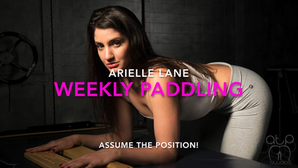 default 4 - Assume The Position Studios – MP4/HD – THE MASTER,ARIELLE LANE - WEEKLY DISCIPLINE PADDLING FOR ARIELLE LANE - YOGA PANTS SWATS | NOV. 09, 18