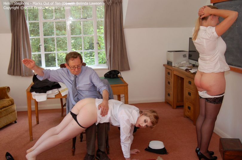marks d018 810x537 - Firm Hand Spanking – MP4/HD – Helen Stephens - Marks out of Ten - DHelen Stephens on the receiving end of a resounding spanking | Nov 02, 2018