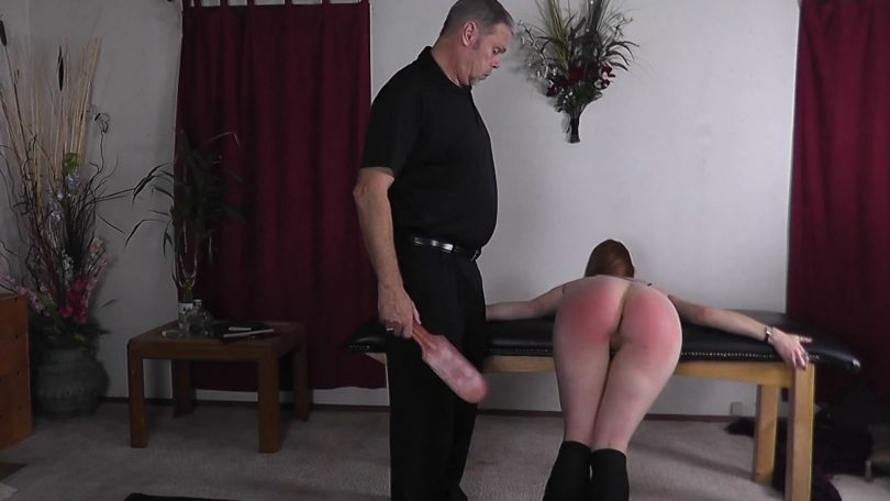 snapshot20181118232502 810x456 - Red Cheeks Studios - MP4/Full HD - Punished for partying in Uncles' car