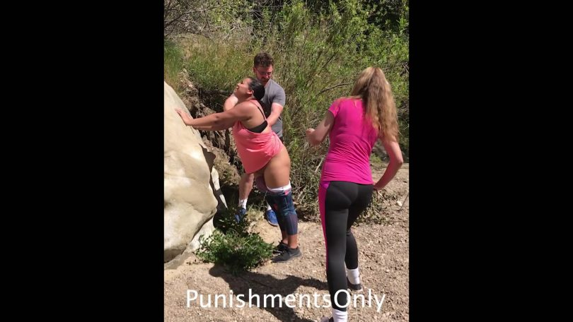snapshot20181123145507 810x456 - Punishments Only - MP4/Full HD - Ditches Gets Spanked Outdoors