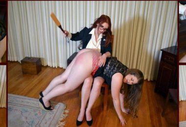 01 10 380x260 - Spanking Veronica Works – MP4/Full HD – Veronica Ricci,Christy Cutie - Episode 118: Principal Spanks A Teacher
