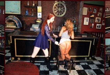 01 5 380x260 - Spanking Veronica Works – MP4/Full HD – Veronica Ricci,Joy Luck - Episode 121: Spanking in the Bar