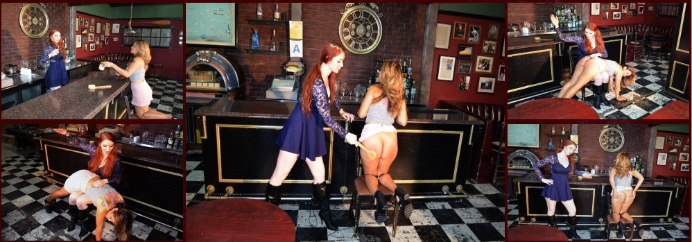 Spanking Veronica Works – MP4/Full HD – Veronica Ricci,Joy Luck – Episode 121: Spanking in the Bar