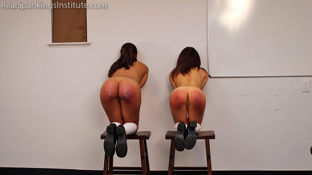 Real Spankings Institute – MP4/Full HD – Two Naughty School Girls Punished Together(Part 4 of 4) | DEC. 14, 18
