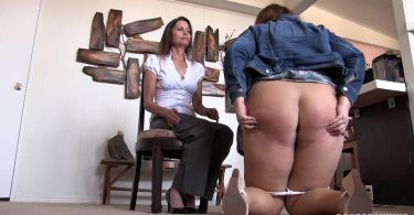 It Hurts Not to be Courtoeus 0019 375x195 - Disciplinary Arts – MP4/SD – SARAH GREGORY,LILY STARR - DISRESPECTFUL LITTLE SARAH'S OTK BARE BOTTOM HAIRBRUSH SPANKING | December 11, 2018