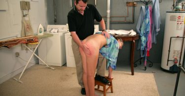Leaving the Iron On 375x195 - Punishments Only – MP4/Full HD – Christina Carter, Luci Lovett - Spankings are not Refusable