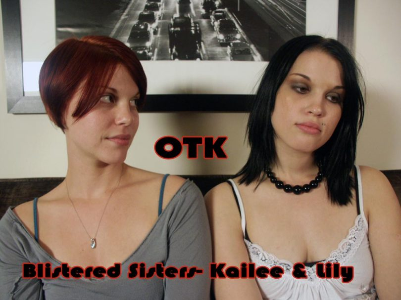 kailee lily main 810x607 - Dallas Spanks Hard – MP4/SD – Kailee ,Lily - Blistered Sisters OTK