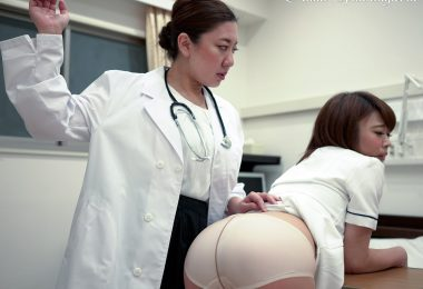 m28 23 380x260 - Hand-Spanking – MP4/SD – Yuko,Yui - POV - Nurse's  Apology